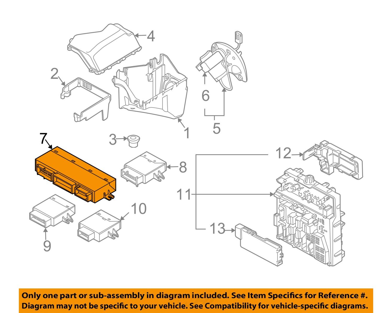 bmw oem 03 08 z4 electrical control module 61359116445 bmw oem 03 08 z4 electrical control module 61359116445