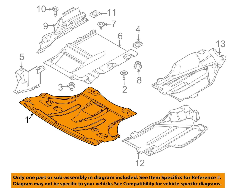 2006 Bmw X3 Engine Diagram Ford Escape Circuit And 19775 0 Gm Oem X Splash Shield Fr Under Radiator Cover 04 10
