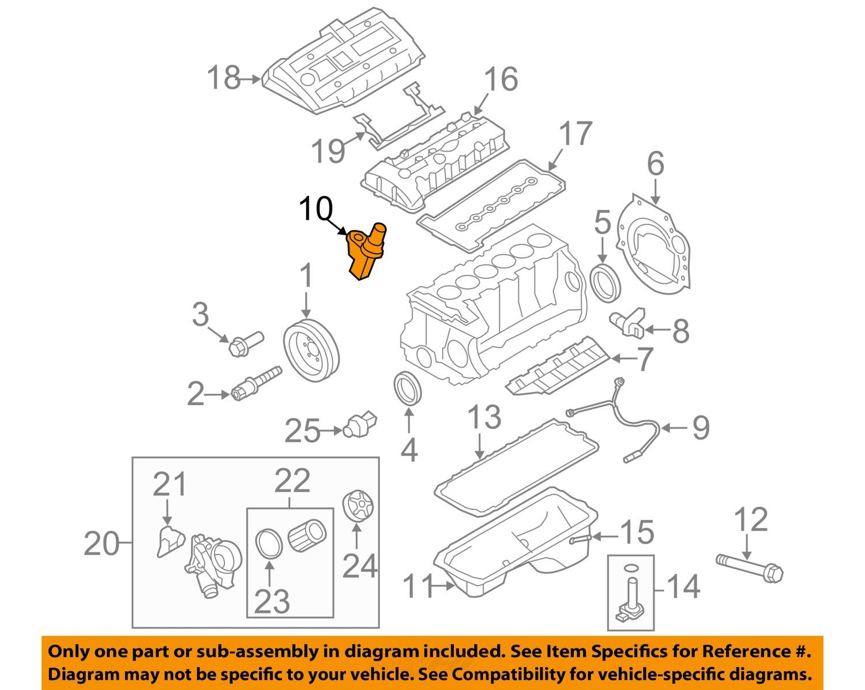 bmw oem 07 16 x5 engine camshaft cam position sensor 13627525014 bmw oem 07 16 x5 engine camshaft cam position sensor 13627525014