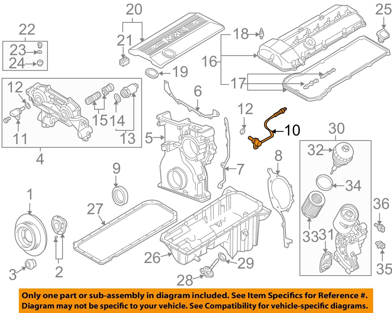 Bmw Oem 99 02 Z3 Engine Camshaft Cam Position Sensor