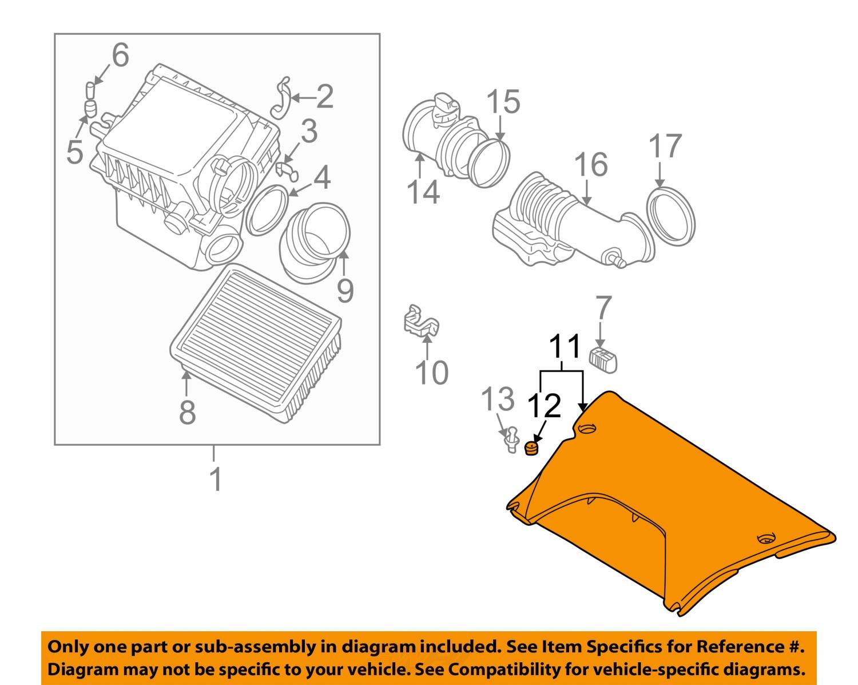 BMW    OEM 0006    X5    44LV8 Air Cleaner IntakeIntake Duct