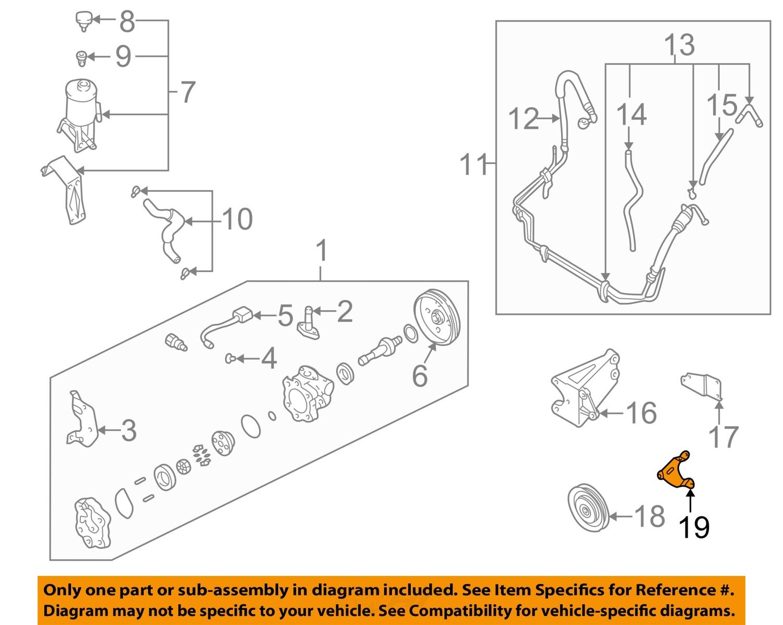 Nissan Frontier Idler Pulley Bracket Diagram 2
