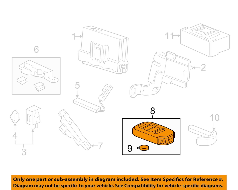 Honda Key Fob Diagram Trusted Wiring Diagrams Buy Oem 2016 Cr Z Keyless Entry Remote Transmitter Ford Circuits