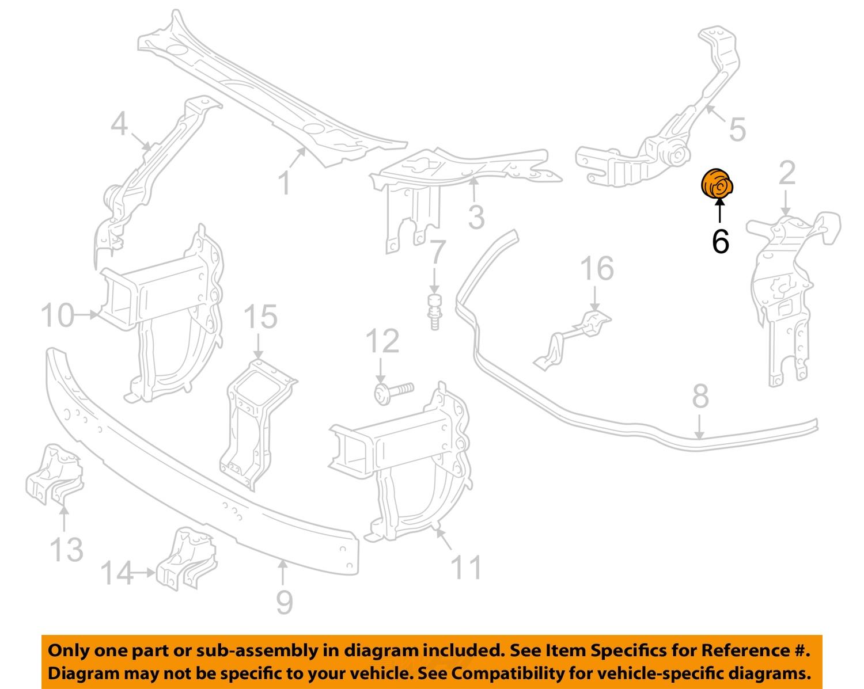 Mercedes mercedes benz oem radiator core support headlamp for Mercedes benz helpline