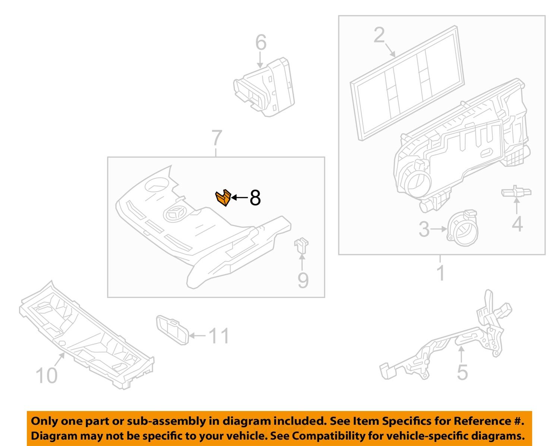 mercedes oem 13 16 sl65 amg 6 0l v12 engine front cover clip 0039915170 ebay