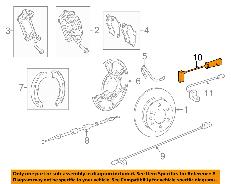 Mercedes oem 2014 sprinter 2500 abs anti lock brake sensor for Oem mercedes benz parts