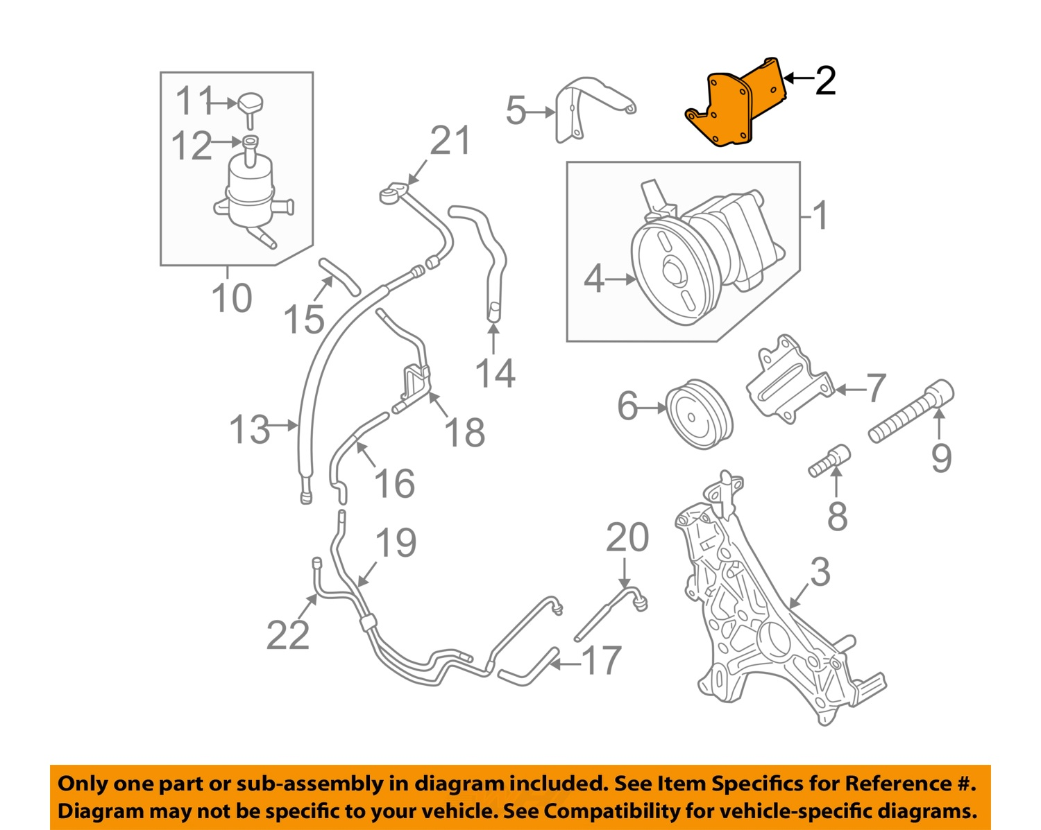 Sell Mitsubishi Oem Pump Hoses Steering Power Support And Bracket Mr418627