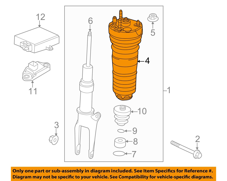 Purchase Porsche Oem 10 13 Panamera Front Suspension Coil Spring 365 Engine Diagram 97034315202