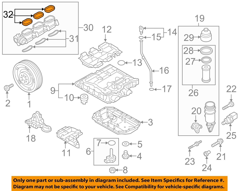 Find Porsche Oem 11 15 Cayenne Engine Intake Manifold Gasket Diagram 95811014700