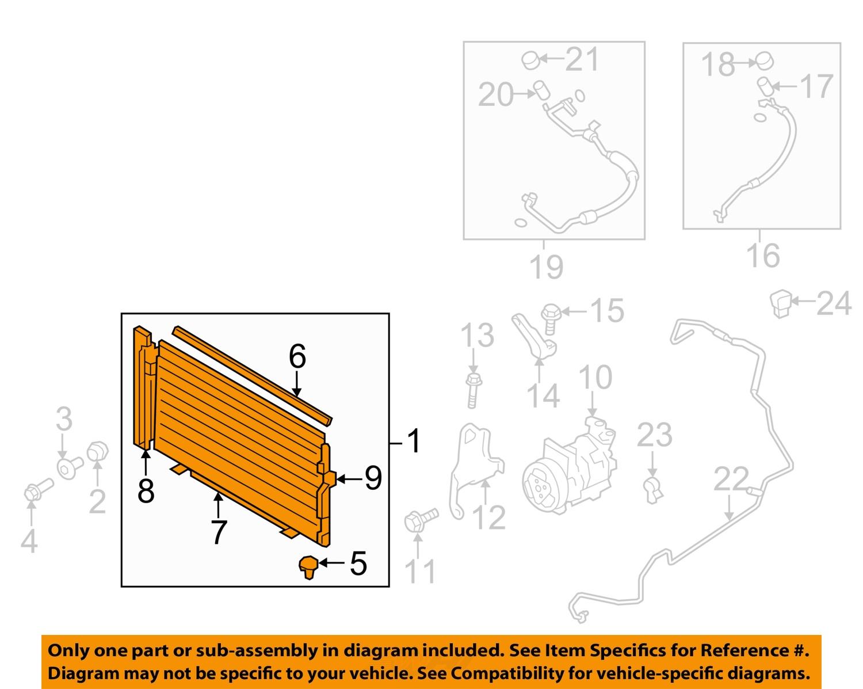 7595080_1Full find subaru oem 10 13 forester air conditioner condenser 73210sc012