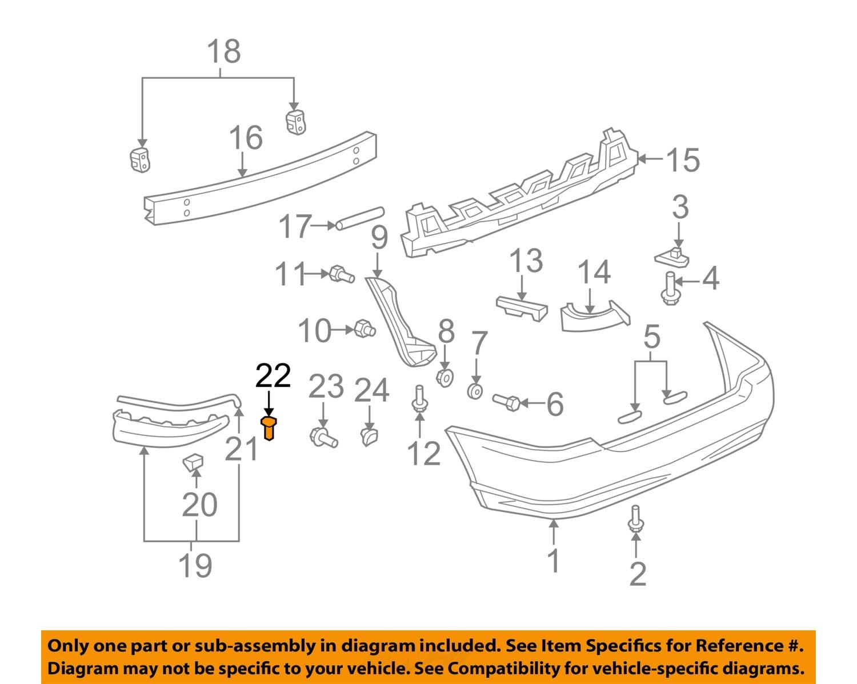 Toyota Rear Bumper Schematic Diagrams Electrical Wiring Prius 2007 Corolla Parts Diagram Basic Guide U2022