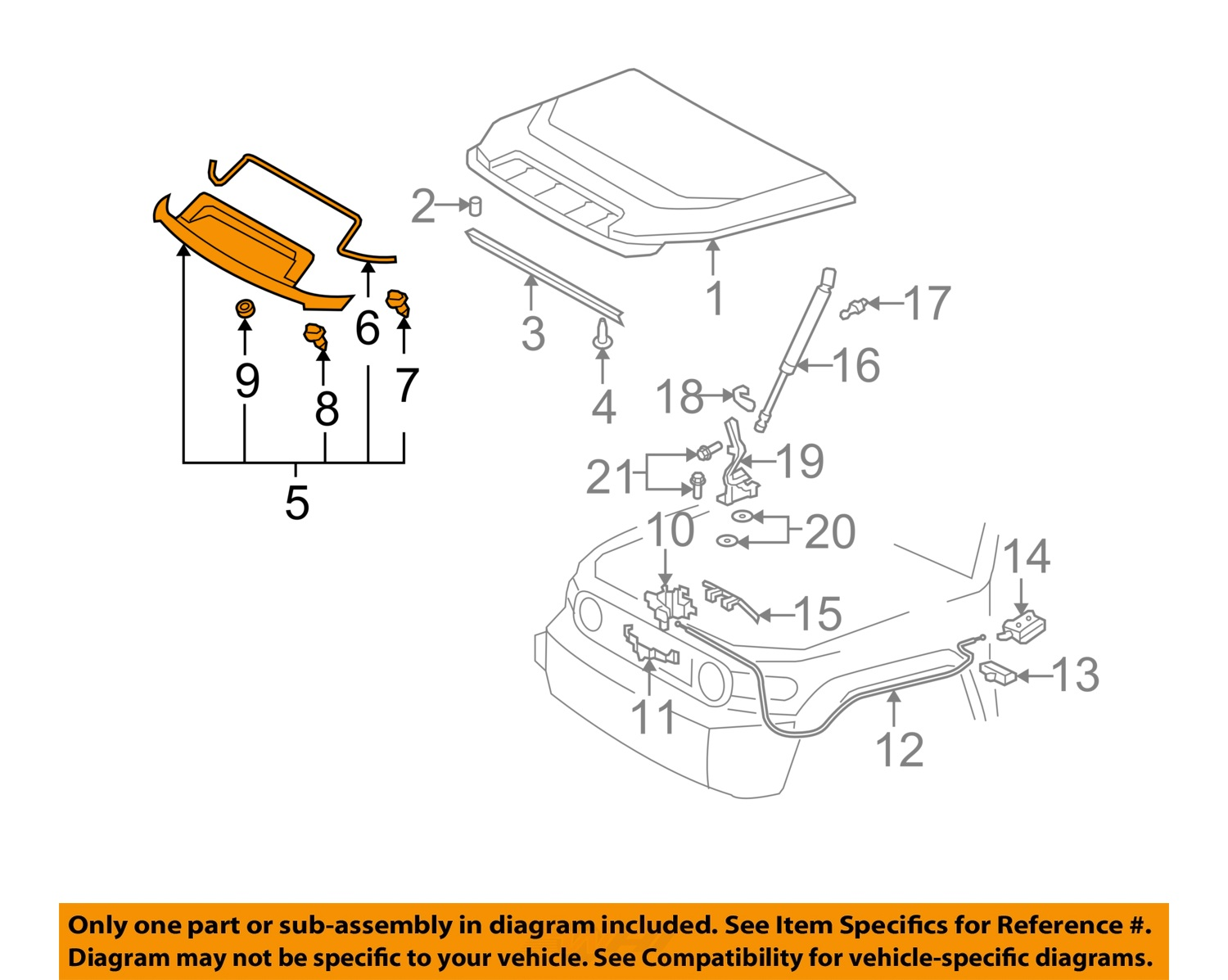 Case Engine Parts Diagram Electrical Wiring Auto Mobile 2007 Toyota Fj Cruiser Body Library Of U2022