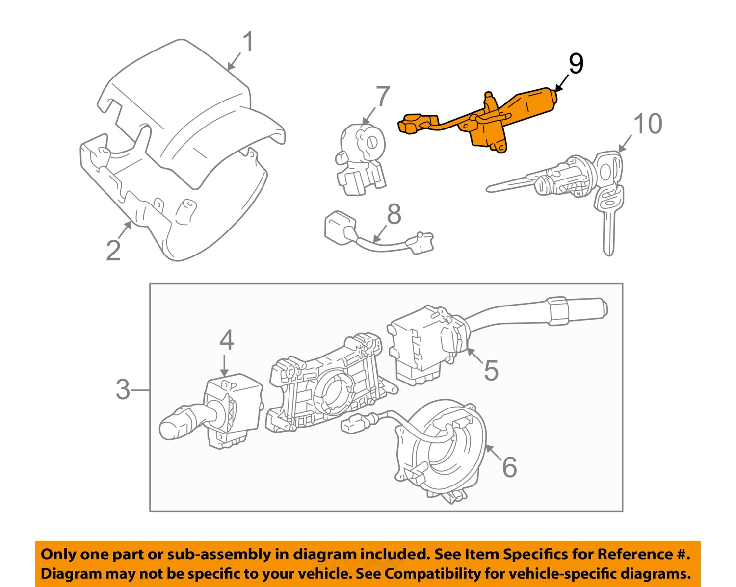Tacoma Cruise Control Diagram Schematics Nissan Sell Toyota Oem 01 03 Switch 846300c010 Wiring