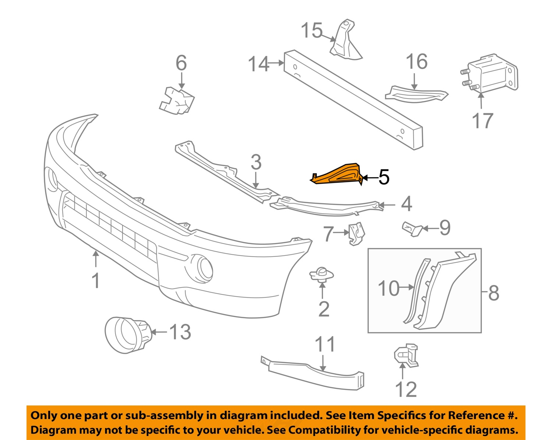 05 Tacoma Body Parts Diagram 05 Free Engine Image For