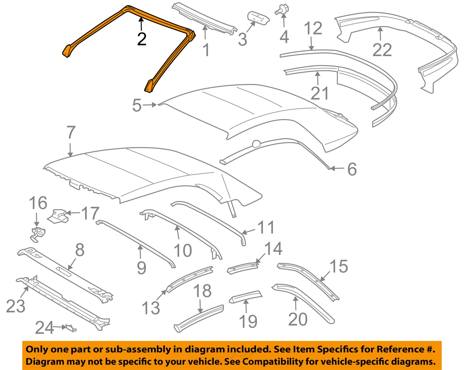 Available Part Diagrams 78 In Body Hardware