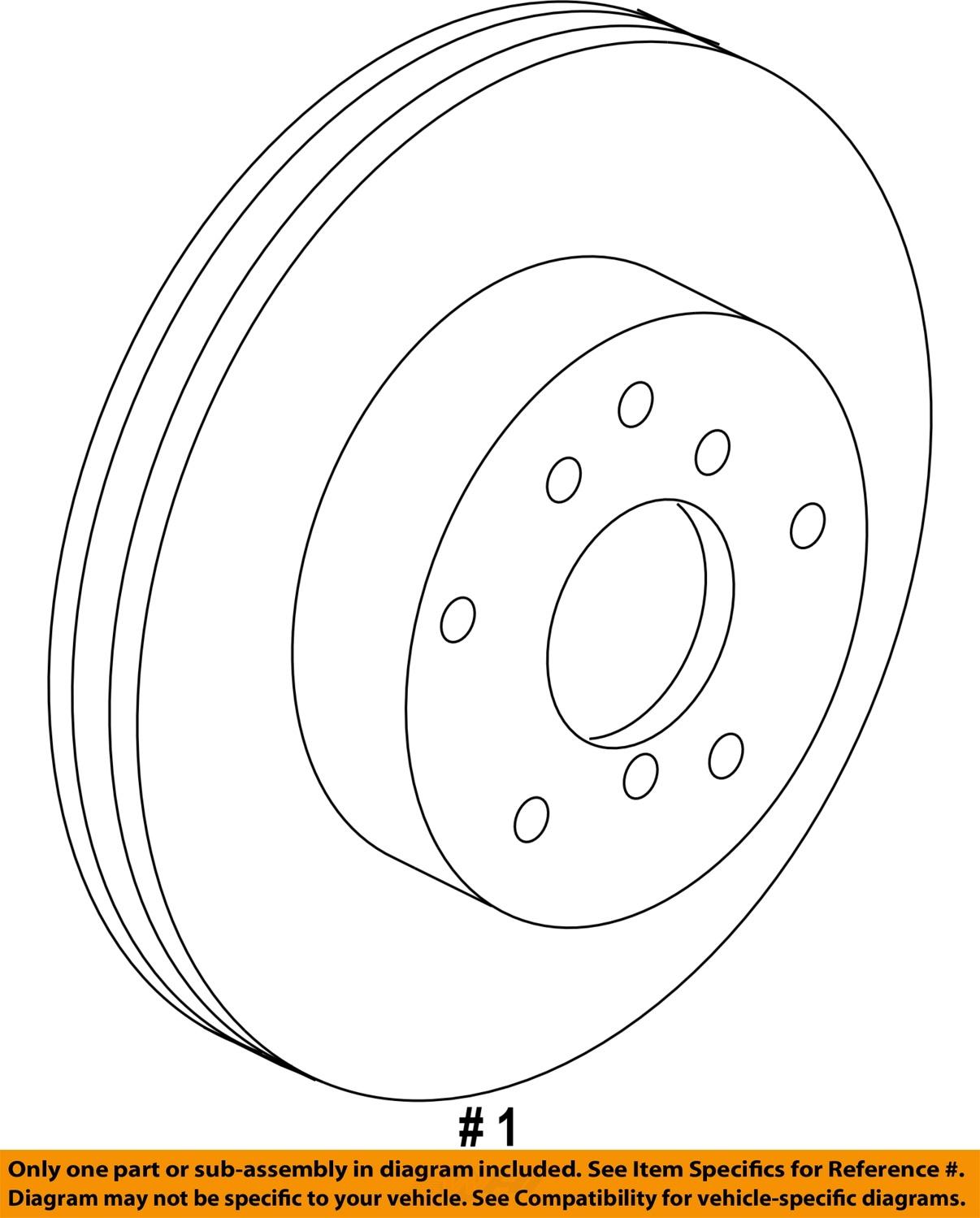 lexus toyota oem 11 13 es350 front brake rotor 4351233140. Black Bedroom Furniture Sets. Home Design Ideas