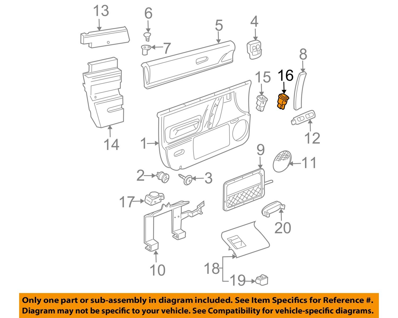 VW       VOLKSWAGEN    OEM 9810    Beetle       Door      Lock    Switch