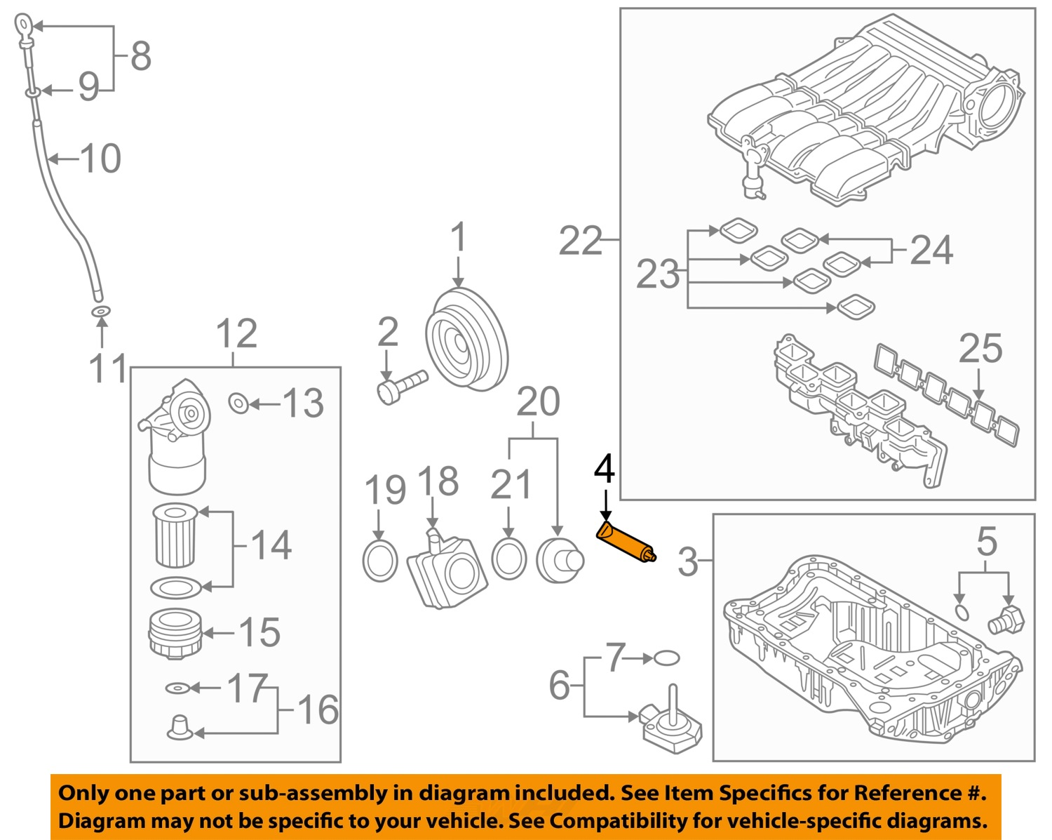 vw oem parts diagram vw image wiring diagram vw volkswagen oem 11 16 touareg engine parts oil pan sealer d154103a1 on vw oem parts