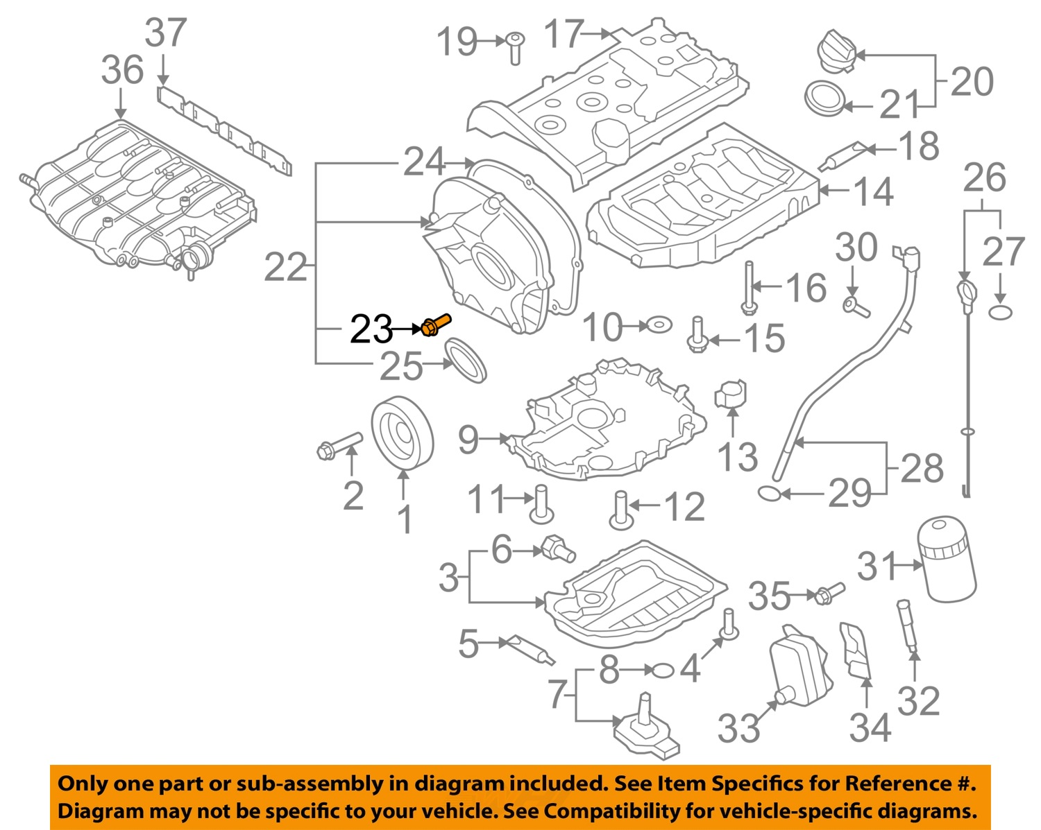 vw tiguan engine parts diagram vw volkswagen oem 09-16 tiguan engine parts-timing cover ... 2003 vw passat engine parts diagram