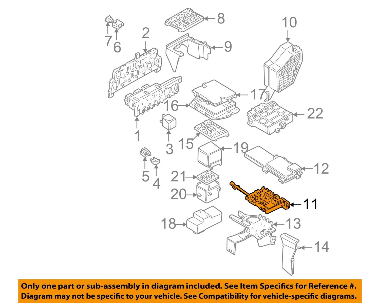 Sell Vw Volkswagen Oem 02 05 Jetta Electrical Fuse Relay Box Diagram 2002 1j0937617d
