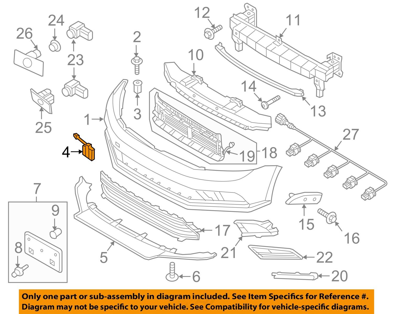VW VOLKSWAGEN OEM 1516 Jetta Front    Bumper   Tow Hook Eye Cap Cover 5C6807241FGRU   eBay
