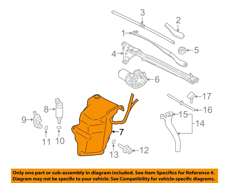 Full on Volvo S40 Windshield Washer Diagram