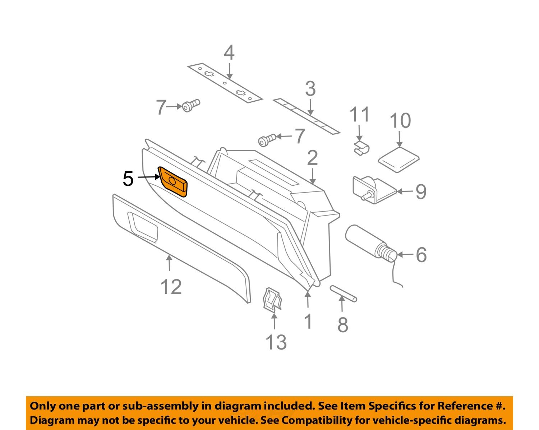 volvo oem 03 14 xc90 glove compartment box handle latch 30643013 image is loading volvo oem 03 14 xc90 glove compartment box