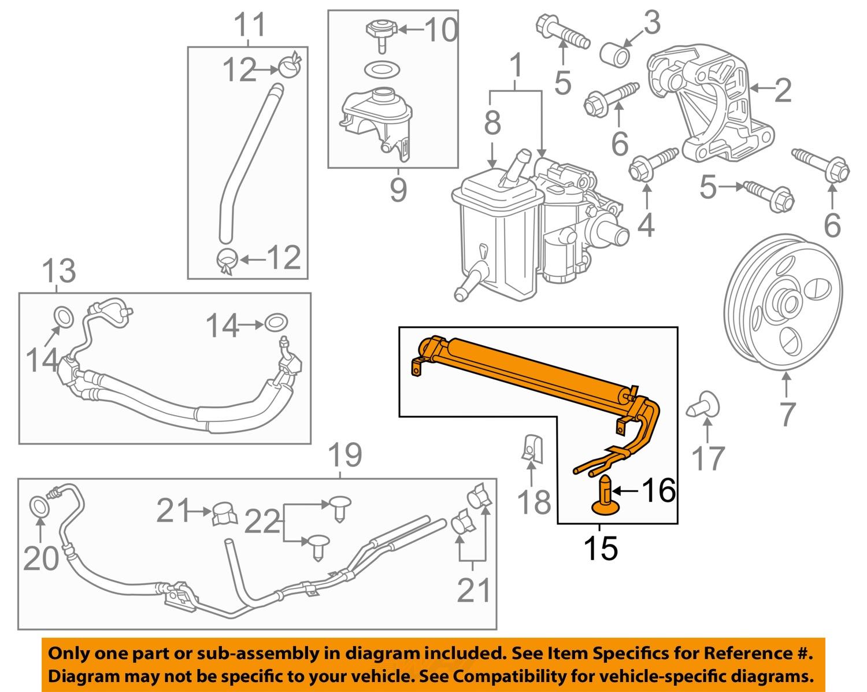 chevrolet gm oem 12 13 impala steering power steering. Black Bedroom Furniture Sets. Home Design Ideas