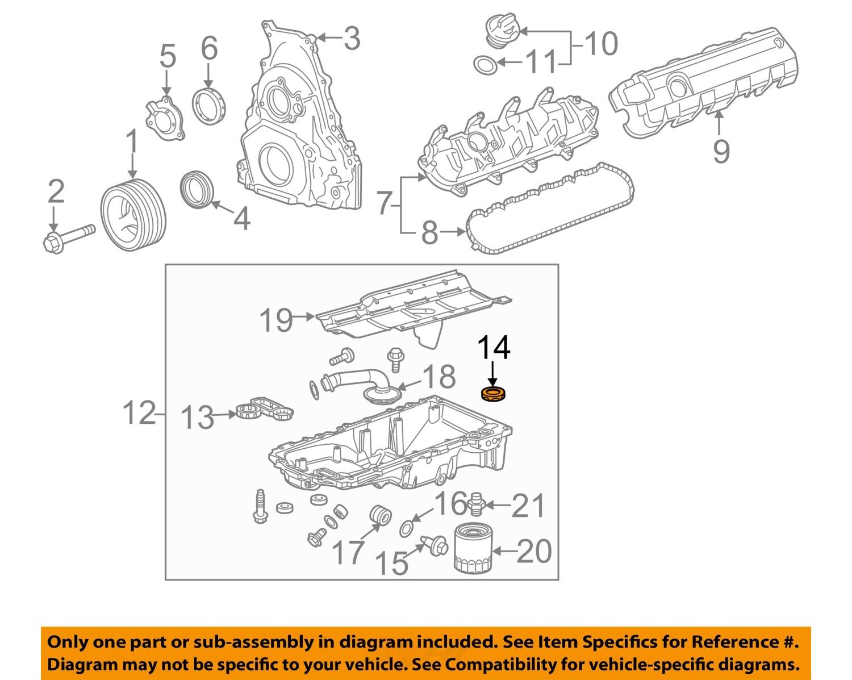 Find Chevrolet Gm Oem 14 16 Corvette 62l V8 Engine Oil Pan Rear Diagram Seal 12621086