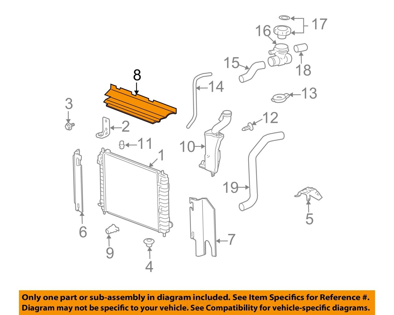 General motors engineer gives us the lowdown on ecotec 2 4 youtube - Chevrolet Gm Oem 06 11 Hhr 22l L4 Radiator Air Deflector 15817968 Ch06030 8full 152438488142