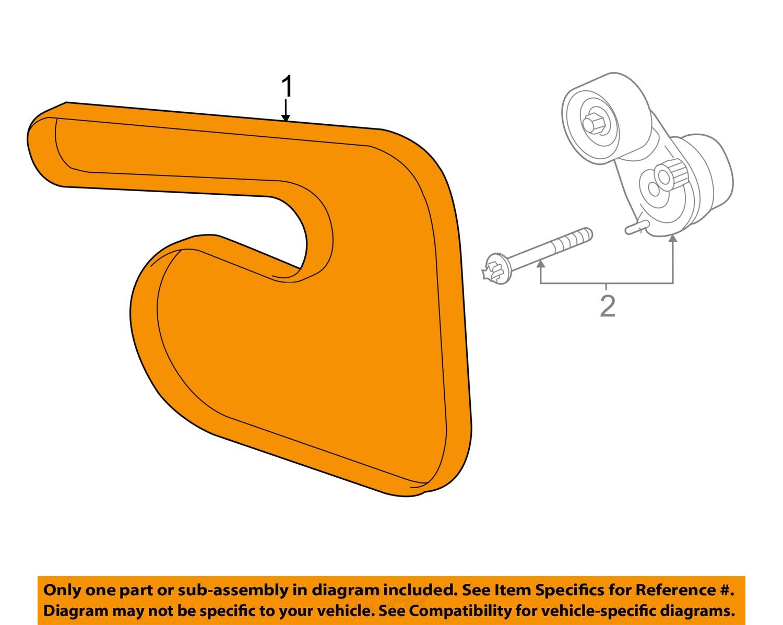 Chevrolet Gm Oem 13 15 Sonic Serpentine Drive Fan Belt