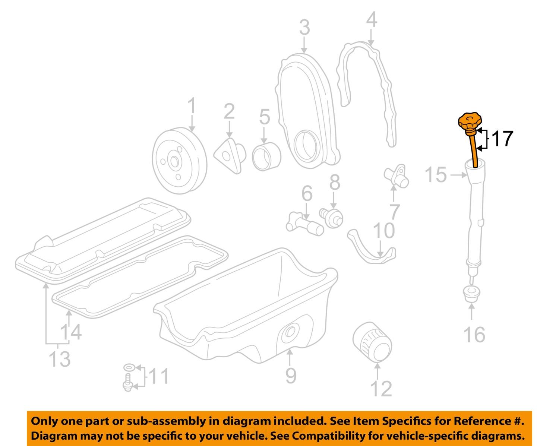 Chevy Cavalier Pontiac Sunfire 2 2 Engine Oil Dipstick New