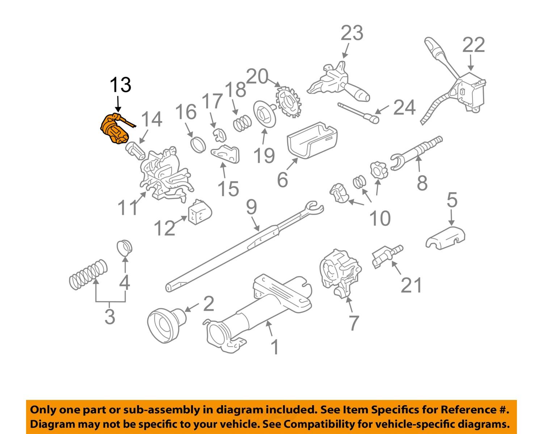 GM Chevrolet OEM    Cavalier    Sunfire    Ignition    Lock    Cylinder