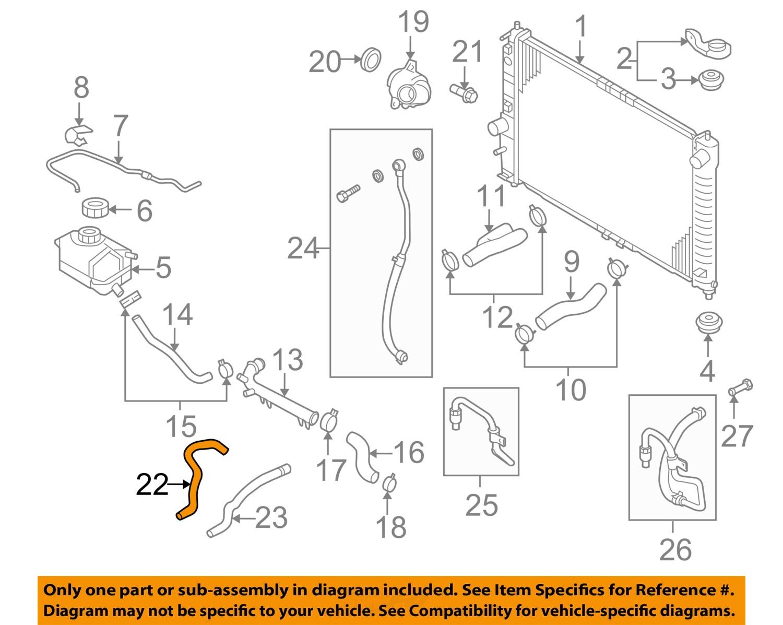 2004 Chevy Aveo Engine Heater Hoses Diagram Similiar Chevrolet Gm Oem L Radiator Hose 04 08 1 6l