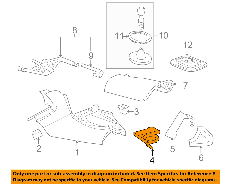 2006 2010 pontiac solstice black cupholder in console dash. Black Bedroom Furniture Sets. Home Design Ideas
