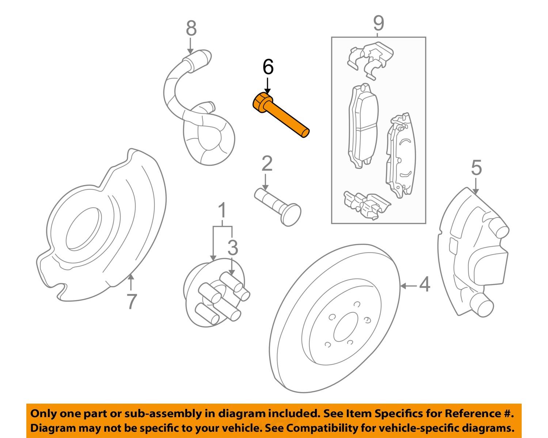 pontiac brakes diagram pontiac gm oem 2005 grand am brake-front-caliper bolt ...