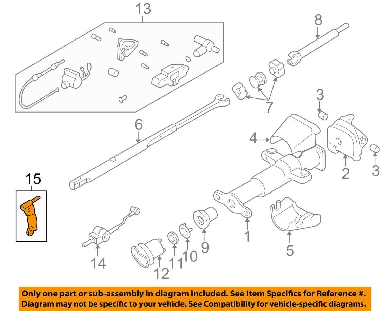 how to break a steering column lock