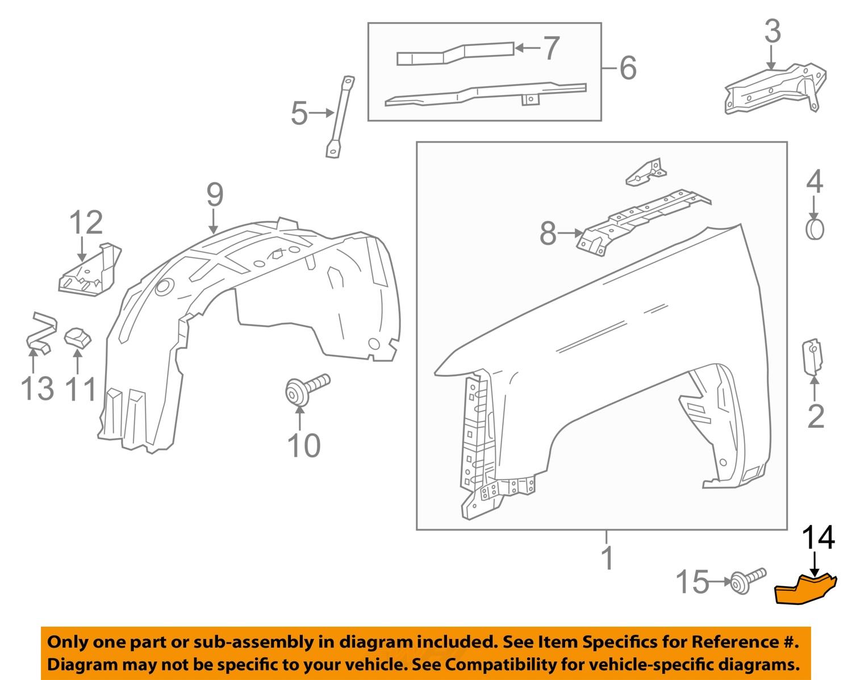 silverado driver front fender lower black molding. Black Bedroom Furniture Sets. Home Design Ideas