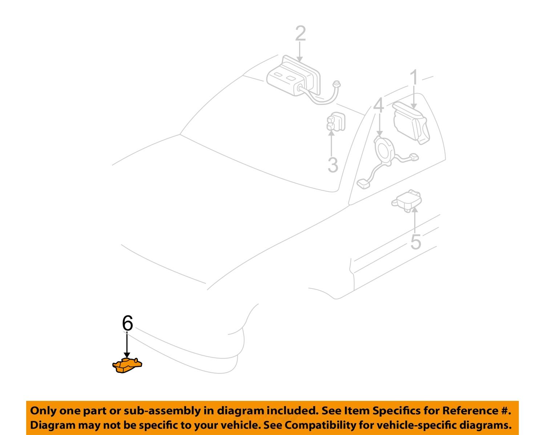 gm oem airbag air bag srs front impact sensor 10370150 ebay. Black Bedroom Furniture Sets. Home Design Ideas
