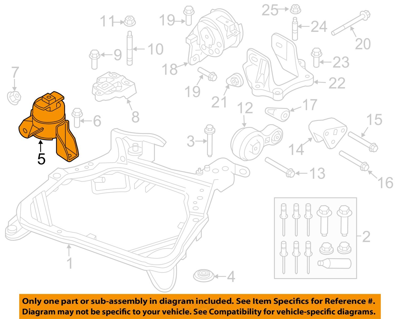 ford taurus engine mount diagram ford fusion engine mount diagram ford oem engine torque strut motor mount 9e5z-6038-f ...