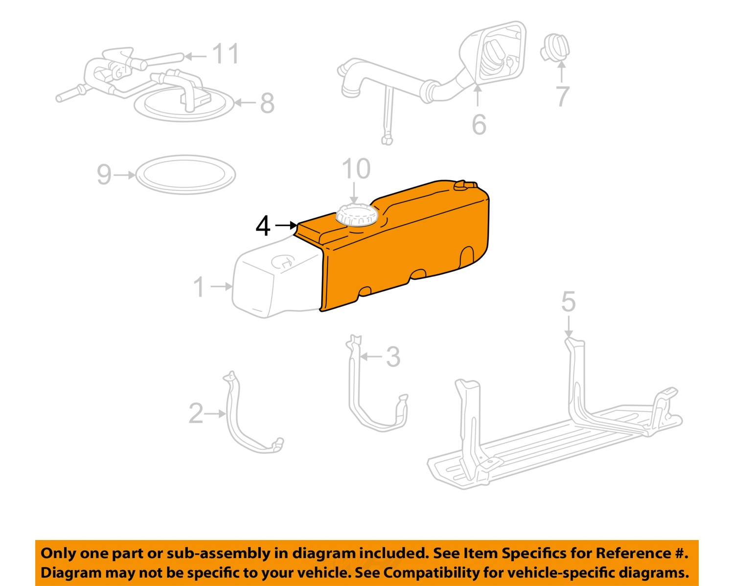 ford oem 98-99 ranger 3.0l-v6 fuel system-fuel gas tank ... 99 ford ranger fuel system diagram 1993 ford ranger fuel system diagram