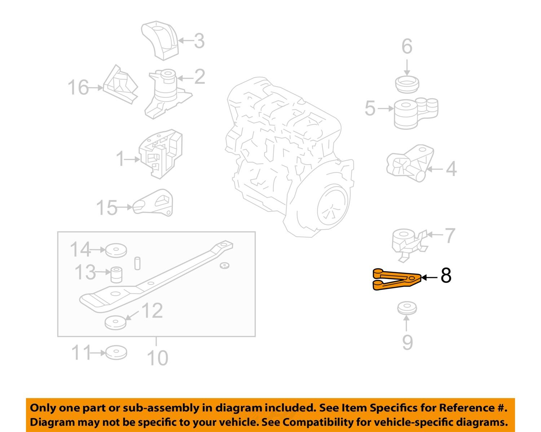 ford oem 01 03 escape engine motor transmission mount support ford oem 01 03 escape engine motor transmission mount support yl8z6m007aa