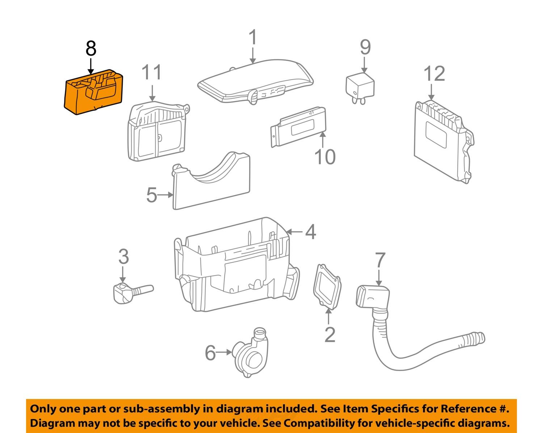 chrysler oem 04 08 crossfire 3 2l v6 fuse relay relay. Black Bedroom Furniture Sets. Home Design Ideas