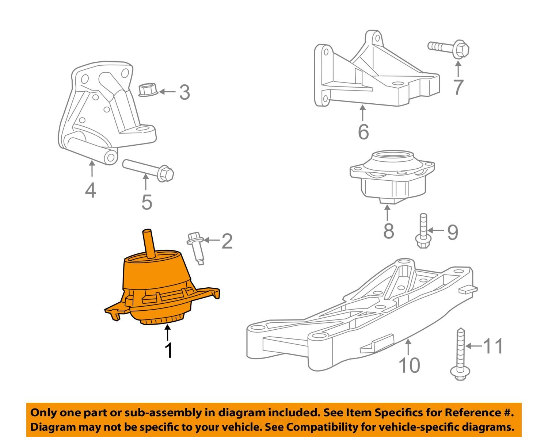chrysler oem engine motor mount torque strut 68277081aa chrysler oem engine motor mount torque strut 68277081aa
