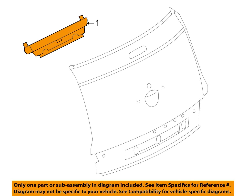 Pt Cruiser Fuse For Third Light Smart Wiring Diagrams 07 Box Location Chrysler Oem 05 08 High Mount 3rd Brake