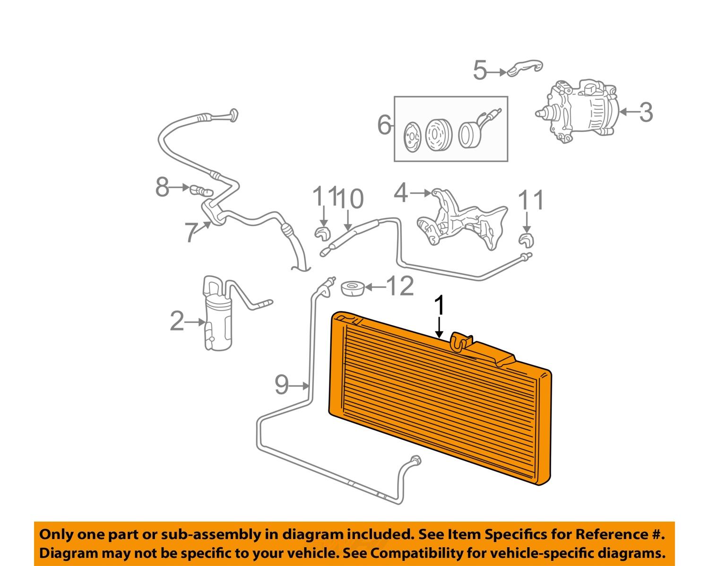dodge chrysler oem 03 07 ram 3500 air conditioner. Black Bedroom Furniture Sets. Home Design Ideas