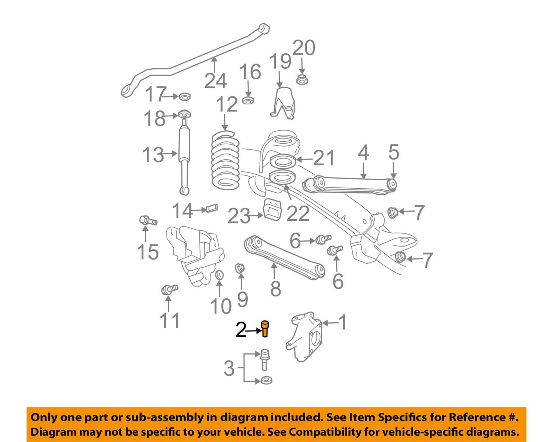 Dodge Truck Front End Diagram : Dodge chrysler oem ram front suspension upper