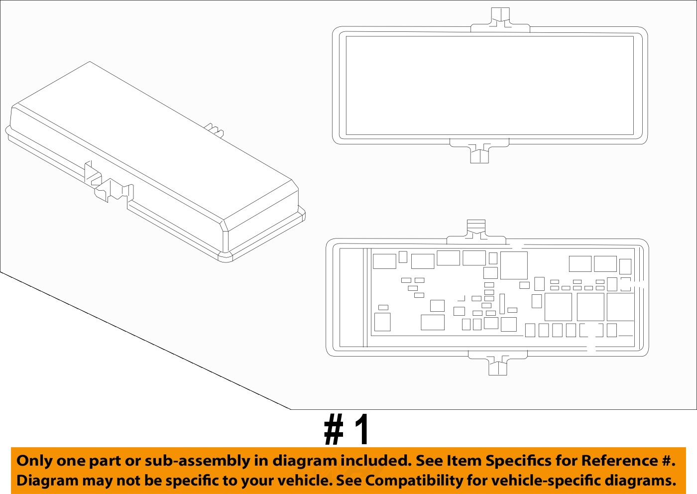 dodge chrysler oem 11 17 journey 3 6l v6 fuse relay. Black Bedroom Furniture Sets. Home Design Ideas