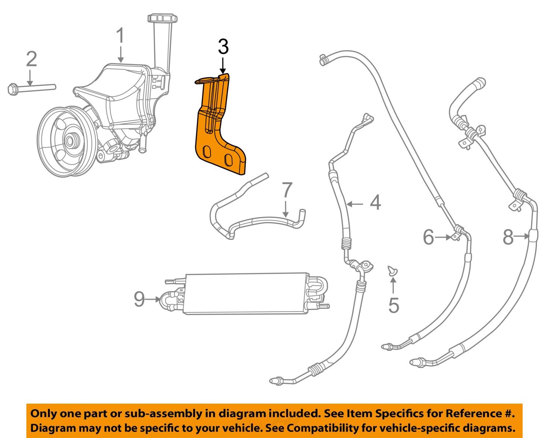 Dodge Challenger Power Steering Pump Diagram Wiring Diagrams Detailed Bracketry Installation New Oem Mopar Bracket Charger Replacement Saginaw