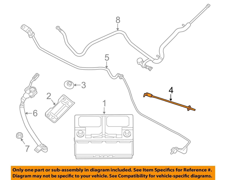 Jeep Chrysler Oem 11 17 Grand Cherokee 36l V6 Battery Vent Hose 1950 Willys Overland Wiring Diagram 5033388ac